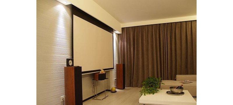 98平大户型2居室欧式风格装修效果图,室内设计效果图 齐家装修网高清图片