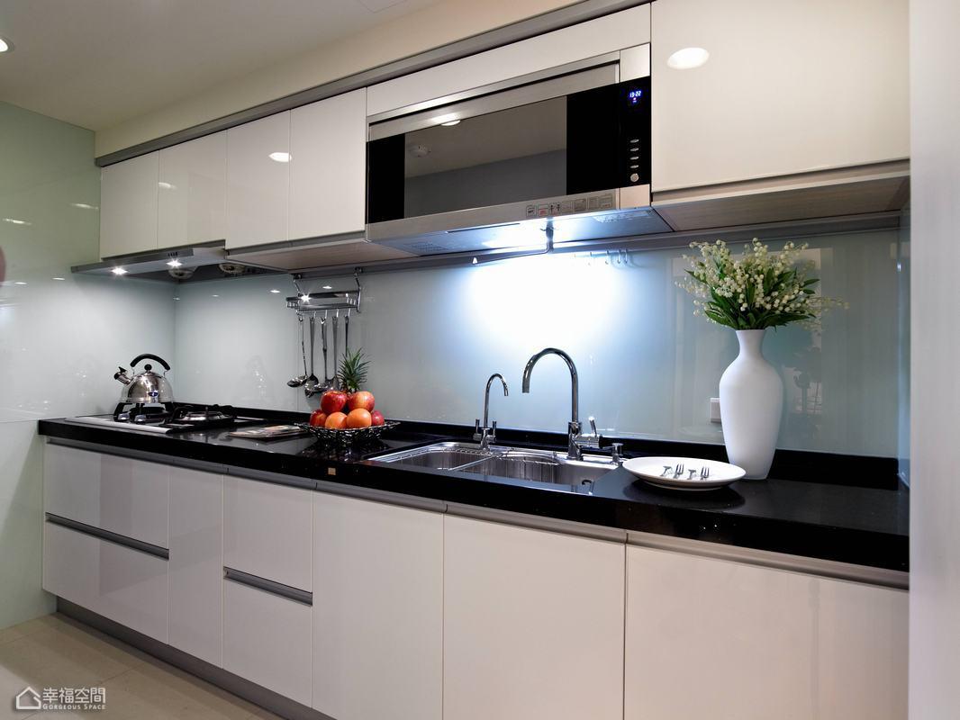 简约风格小清新厨房旧房改造家居图片