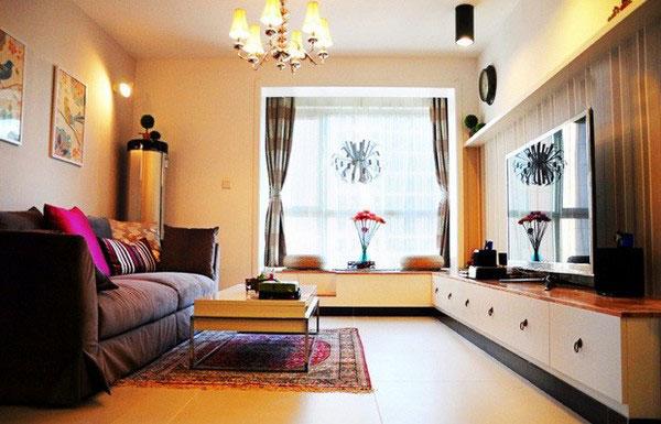 节省空间新方案 30图小户型客厅设计4/30