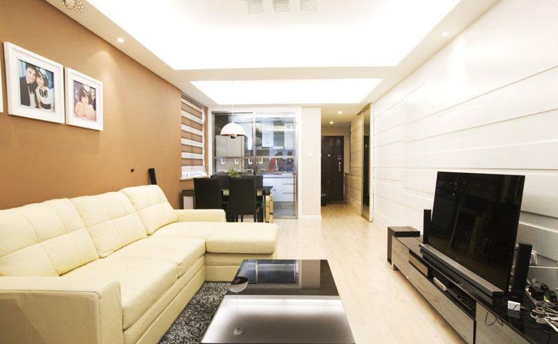 节省空间新方案 30图小户型客厅设计11/30