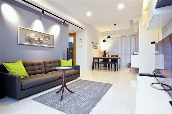 节省空间新方案 30图小户型客厅设计13/30