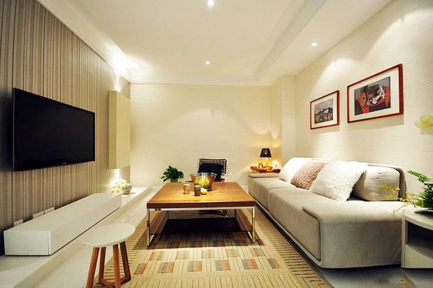 节省空间新方案 30图小户型客厅设计23/30