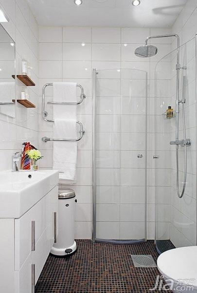 施工流程 正文  小浴室装修效果图中是集合了众多奇思妙想的创意点,在