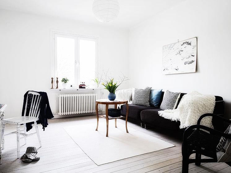 宜家风格稳重客厅沙发图片