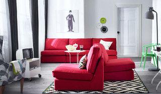 宜家风格舒适客厅宜家沙发效果图