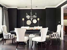 质感黑白对比 23个现代风背景墙