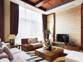 中式客厅电视墙 22图典雅气质大比拼