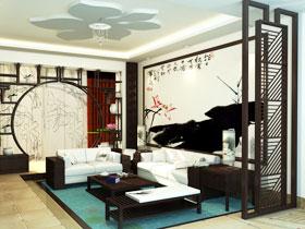 中式客厅如何隔断 23图给你完美答案