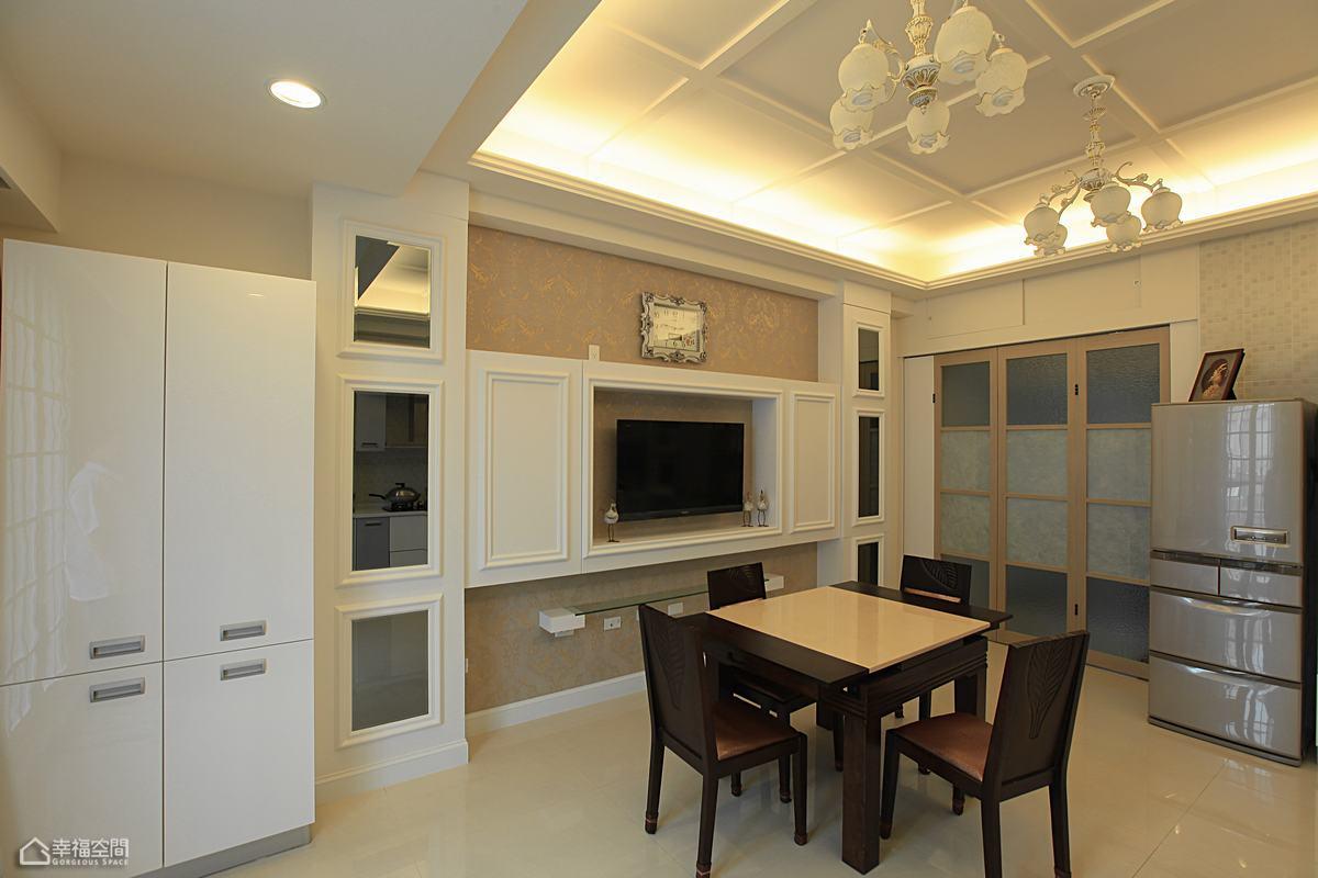 新古典风格别墅奢华餐厅设计