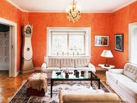 让家变身彩虹天堂 20图彩色欧式客厅