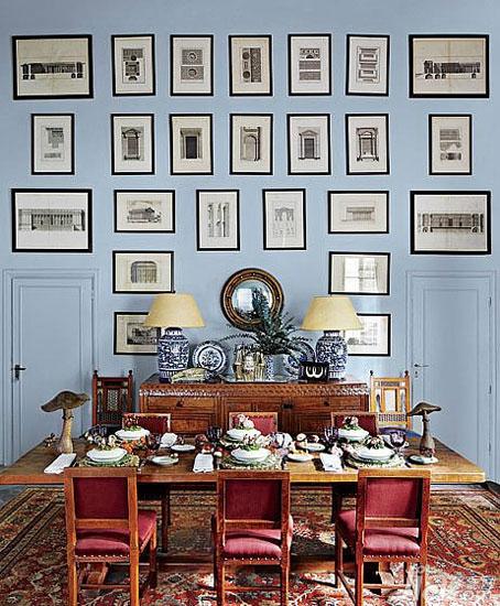 看看这些照片墙效果图吧,照片墙设计得好,也可以成为时尚的一角哦.