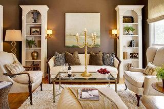 欧式风格舒适欧式客厅装潢