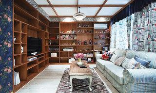 欧式风格舒适欧式客厅设计图
