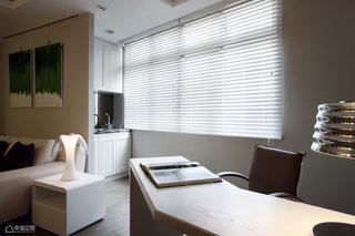 简约风格公寓温馨书桌图片