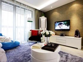 客廳新主張 21款簡約電視背景墻