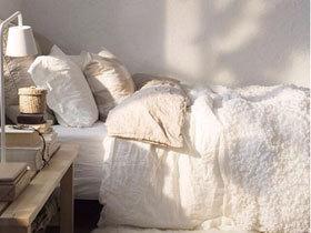 温馨卧室必备松软床品