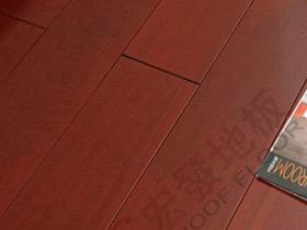 铁苏木实木地板标板 红檀色南美金檀地板