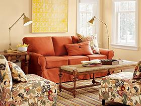 鲜亮颜色沙发9套图