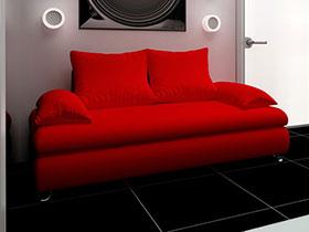 紅色大氣沙發7圖展示