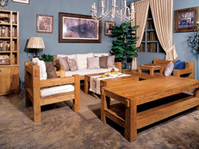 中式风格的客厅独具特立独行的风格