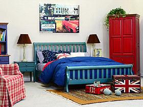 原宿风格的卧室 简单中夹杂着个性