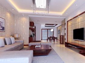 简约高雅 现代简约米色客厅家具