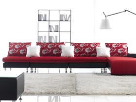沙发怎么选 9个转角布艺沙发欣赏