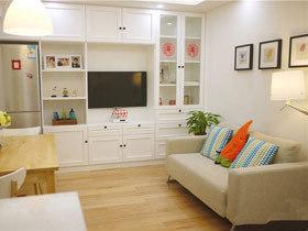 简单舒适 8个简约风格客厅