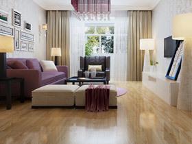 金丝柚木强化复合地板 仿真实木地板