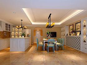 经典美式风  20图开放式厨房设计