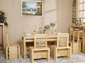 实木餐桌椅 吃出环保又健康