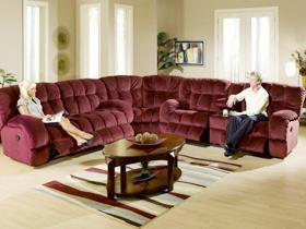 红酒色的布艺沙发 沉醉于客厅无法自拔
