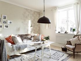 简单平凡打造不平凡的布艺沙发