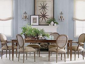8款实木餐桌椅 让你轻松落座