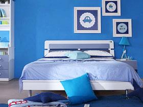 湖蓝的海洋 3款地中海儿童房推荐