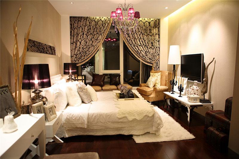 个性卧室飘窗设计 打造时尚卧室