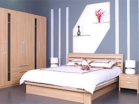 温馨而舒适的卧房家具