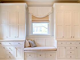 21款白色儲物柜推薦  飄窗的妙用小絕招