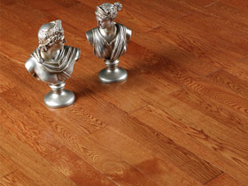 栎木钛晶面地板