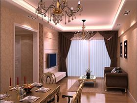 流行色调个性化的客厅家具