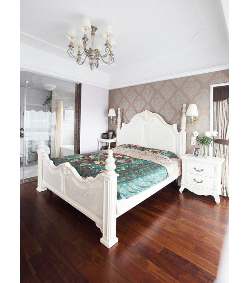 富裕型装修100平米欧式三居室装修效果图,简欧温馨三图片