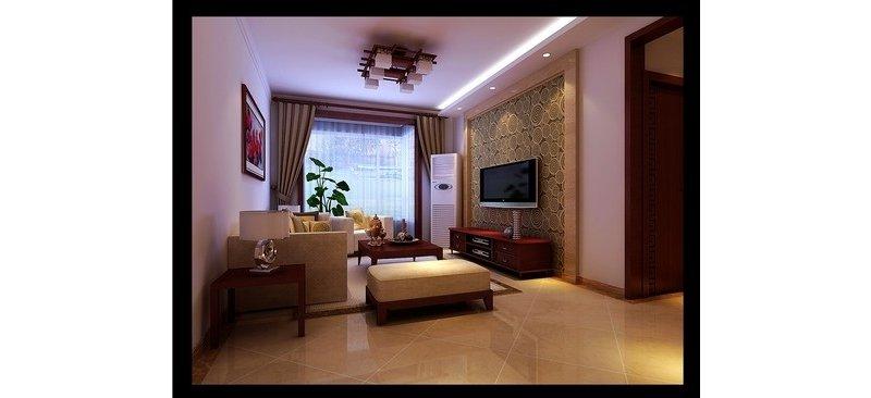 中式装修效果图,室内设计效果图-齐家装修网
