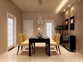 带着生命力的浅胡桃木色餐厅家具