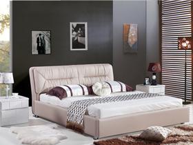 白枫色卧房家具