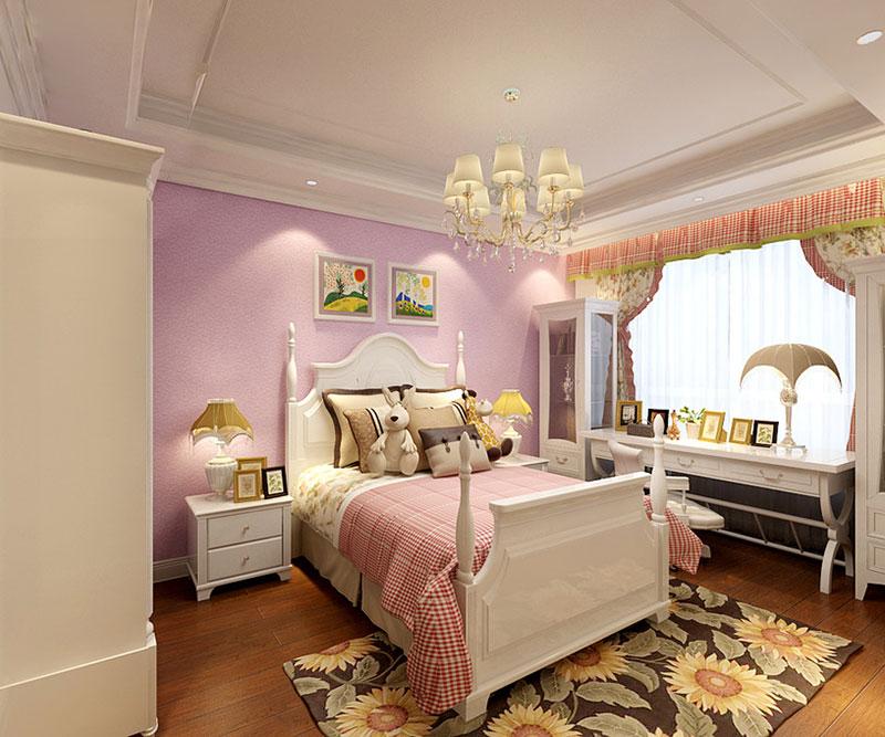 欧式风格可爱儿童房装修_齐家网装修效果图