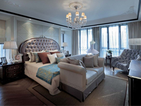 豪华唯美的卧室套件