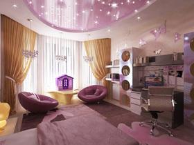 舒适的卧室可以让人享受一场宁静的酣睡