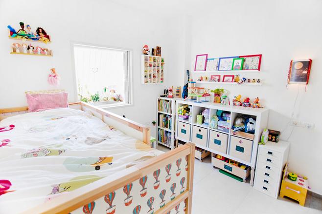 欧式风格可爱儿童房家具图片