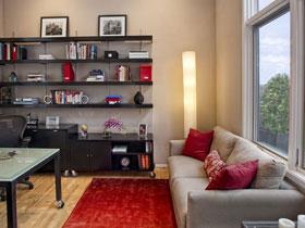 书房里的沙发 静谧中的一处舒适
