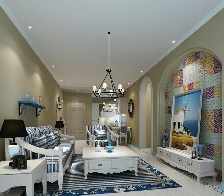 客厅吊顶装修效果图大全2014图片
